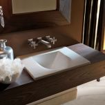 "WS Bath Collections Bentley 3940 Drop-In Bathroom Sink 21.7"" x 14.2"""