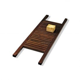 DW WO WANE Bathtub Bridge in Thermo-Ash Wood