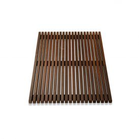 DW WO BME 70110 Shower Mat in Thermo-Ash Wood