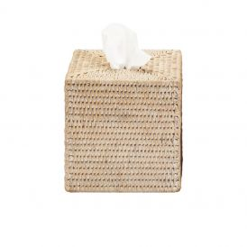 DW BASKET KBQ Tissue Box in Rattan
