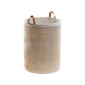 DW BASKET SPA Laundry Basket in Rattan