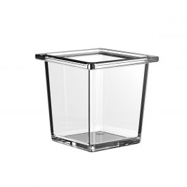 Liaison 1866.000.02 Free Standing Soap Dish in Clear Crystal Glass