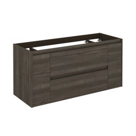 WS Bath Collections Ambra 120 SA Vanity Base Unit in Samara Ash
