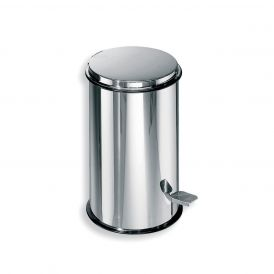WS Bath Collections Basket 5347 Steel Pedal Waste Basket