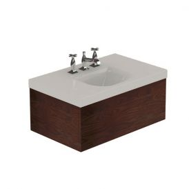"WS Bath Collections Bentley 3936C Bathroom Vanity Unit with Drawer Unit 31.5"" x 19.7"""