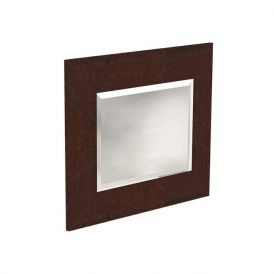 WS Bath Collections Bentley 918047 Wall Mounted Bathroom Mirror with Wood Frame