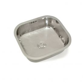 WS Bath Collections WSBC 4240 Metal Bar Sink