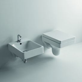 WS Bath Collections Cento 3514+358901 Wall Mounted Ceramic Toilet