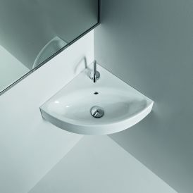 "Cento 3541 Wall Mounted Bathroom Sink 17.7"" x 17.7"""
