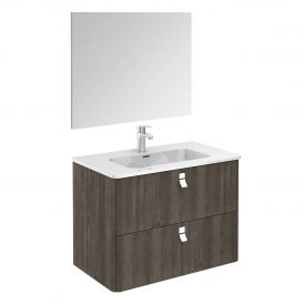 Concert 80 Pack 1 Complete Bathroom Vanity Unit with Mirror