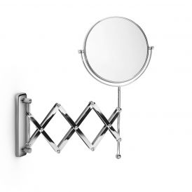 Modo Exclusive Cosmo M55855 Double Sided Accordion 3x Magnifying Mirror
