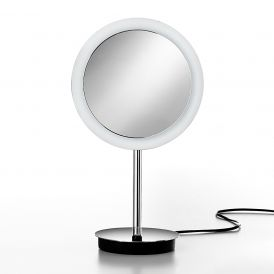 Modo Exclusive Cosmo M55860 Free Standing LED Lighted 3x Magnifying Mirror