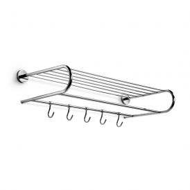 WS Bath Collections Duemila 5522 Chrome Towel Rack 23.6""