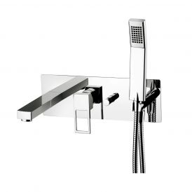 WS Bath Collections Effe EF 001 Shower Mixer with Hand Shower
