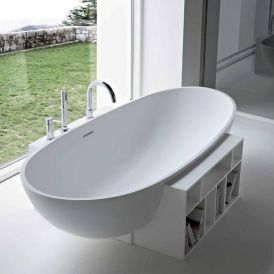 WS Bath Collections Egg 20 EG 2002 Bathtub