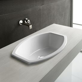 """WS Bath Collections GSI Element Top 56 Over Mount Sink 22.0"""" x 15.5"""""""