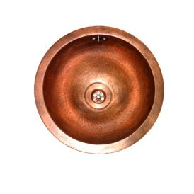 ER 400 Bar Sink in Antique Copper 15.7""