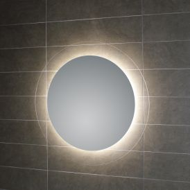 "WS Bath Collections Geometrie L45938 27.6"" x 27.6"" LED Wall Mounted Mirror"
