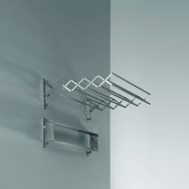 Harmony 700 Extendable Towel Rack in Chrome