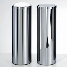 Harmony 207 Waste Basket in Stainless Steel
