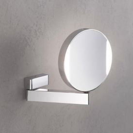 Spiegel 1095.060.17 LED Hard Wired Reversible Magnifying Mirror 7x/3x