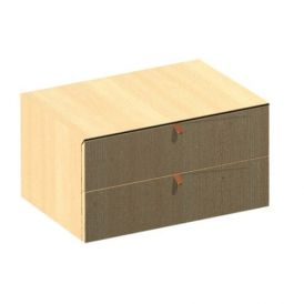 Iside 51.53.07.252 Drawer Unit in Oak Wood