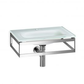 WS Bath Collections Pocia 665801 Wall Mounted Bathroom Sink