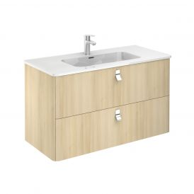 Concert 100 Complete Bathroom Vanity Unit in Nordic Oak