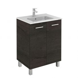 WS Bath Collections Logic 70 Free Standing Bathroom Vanity in Wenge