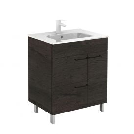 WS Bath Collections Elegance 80 Free Standing Bathroom Vanity in Wenge