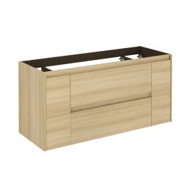 WS Bath Collections Ambra 120 NO Vanity Base Unit in Nordic Oak