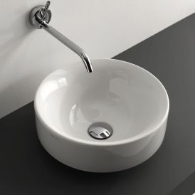 WS Bath Collections Cento 3557 Vessel / Drop-In Bathroom Sink 17.7""