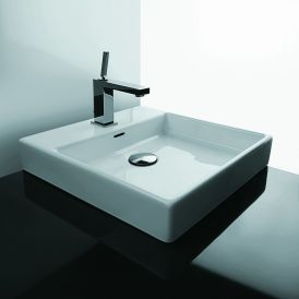WS Bath Collections Plain 45A Vessel Bathroom Sink 17.7""