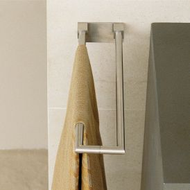WS Bath Collections Metric 38.14.01.021 Stainless Steel U-Shaped Towel Bar 15.7""