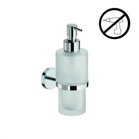 WS Bath Collections Duemila 55001.29+55006.81G Self-Adhesive Soap Dispenser