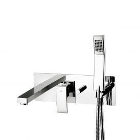 WS Bath Collections Elle EL 001 Shower Mixer with Hand Shower