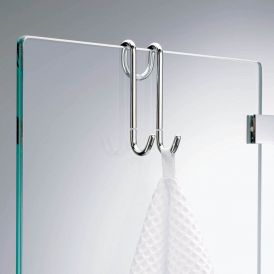 Harmony 206 Hang Up Hook for Shower Door in Chrome