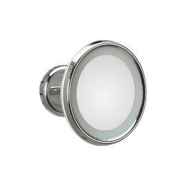WS Bath Collections Lucciolo 20-0 Magnifying Mirror 3x with Incandescent Lamp