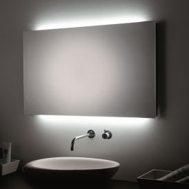 WS Bath Collections Speci T5-R Environmental LED Lighted Wall Bathroom Mirror