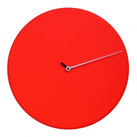 Less M1865 Red Wall Clock