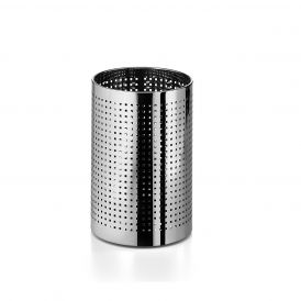 WS Bath Collections Basket 5349 Stainless Steel Waste Basket