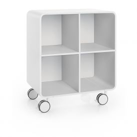 WS Bath Collections Bej 8031 Cabinet on Wheels