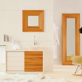 Gallery 55.56.40.272 Free Standing Wood Bathroom Vanity
