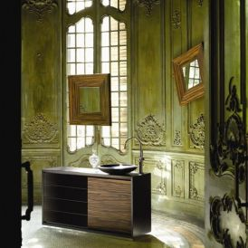 Gallery 51.56.01.269 Free Standing Bathroom Vanity in Ebony Wood