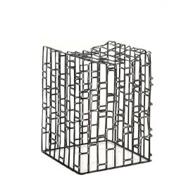 WS Bath Collections Scagni 54709 Metal Stool