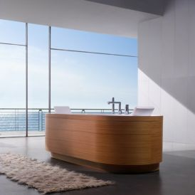 Yuma Art Free Standing Bathtub