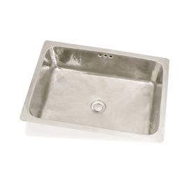 "WS Bath Collections Rustica 5035 Metal Bathroom/Bar Sink 19.7"" x 13.8"""