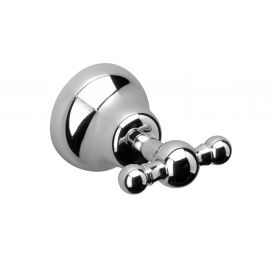 WS Bath Collections Sissi 0560 Double Bathroom Hook