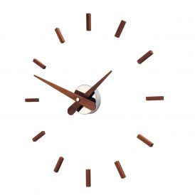 Sunset N Steel Wall Clock