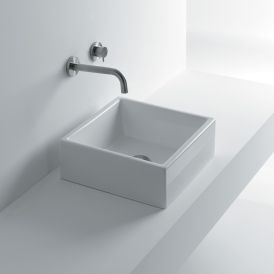 WS Bath Collections Tank 40 Vessel Bathroom Sink